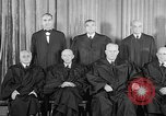 Image of supreme court justices United States USA, 1953, second 23 stock footage video 65675071882