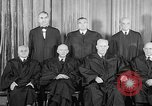 Image of supreme court justices United States USA, 1953, second 24 stock footage video 65675071882