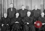 Image of supreme court justices United States USA, 1953, second 25 stock footage video 65675071882