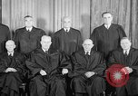 Image of supreme court justices United States USA, 1953, second 28 stock footage video 65675071882