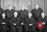 Image of supreme court justices United States USA, 1953, second 29 stock footage video 65675071882