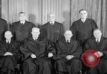 Image of supreme court justices United States USA, 1953, second 30 stock footage video 65675071882