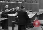 Image of war crimes trials Nuremberg Germany, 1947, second 5 stock footage video 65675071946