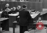 Image of war crimes trials Nuremberg Germany, 1947, second 6 stock footage video 65675071946