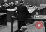 Image of war crimes trials Nuremberg Germany, 1947, second 8 stock footage video 65675071946