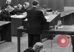 Image of war crimes trials Nuremberg Germany, 1947, second 10 stock footage video 65675071946