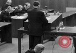 Image of war crimes trials Nuremberg Germany, 1947, second 11 stock footage video 65675071946