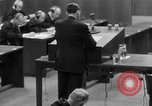 Image of war crimes trials Nuremberg Germany, 1947, second 12 stock footage video 65675071946