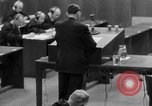 Image of war crimes trials Nuremberg Germany, 1947, second 16 stock footage video 65675071946