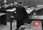 Image of war crimes trials Nuremberg Germany, 1947, second 18 stock footage video 65675071946