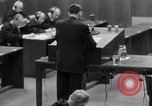 Image of war crimes trials Nuremberg Germany, 1947, second 25 stock footage video 65675071946