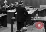 Image of war crimes trials Nuremberg Germany, 1947, second 26 stock footage video 65675071946