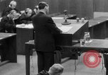 Image of war crimes trials Nuremberg Germany, 1947, second 27 stock footage video 65675071946