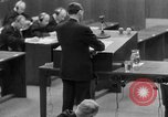 Image of war crimes trials Nuremberg Germany, 1947, second 28 stock footage video 65675071946