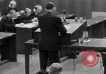 Image of war crimes trials Nuremberg Germany, 1947, second 30 stock footage video 65675071946
