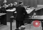 Image of war crimes trials Nuremberg Germany, 1947, second 31 stock footage video 65675071946