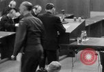 Image of war crimes trials Nuremberg Germany, 1947, second 32 stock footage video 65675071946