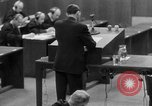 Image of war crimes trials Nuremberg Germany, 1947, second 35 stock footage video 65675071946