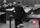 Image of war crimes trials Nuremberg Germany, 1947, second 38 stock footage video 65675071946