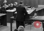 Image of war crimes trials Nuremberg Germany, 1947, second 41 stock footage video 65675071946