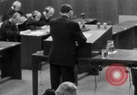 Image of war crimes trials Nuremberg Germany, 1947, second 43 stock footage video 65675071946