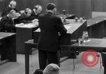 Image of war crimes trials Nuremberg Germany, 1947, second 44 stock footage video 65675071946
