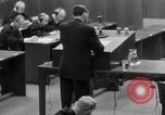 Image of war crimes trials Nuremberg Germany, 1947, second 49 stock footage video 65675071946