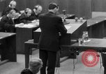Image of war crimes trials Nuremberg Germany, 1947, second 50 stock footage video 65675071946