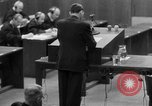 Image of war crimes trials Nuremberg Germany, 1947, second 51 stock footage video 65675071946