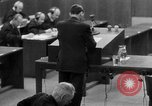 Image of war crimes trials Nuremberg Germany, 1947, second 52 stock footage video 65675071946