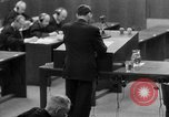 Image of war crimes trials Nuremberg Germany, 1947, second 53 stock footage video 65675071946