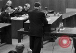 Image of war crimes trials Nuremberg Germany, 1947, second 54 stock footage video 65675071946