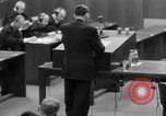 Image of war crimes trials Nuremberg Germany, 1947, second 55 stock footage video 65675071946