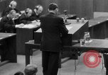 Image of war crimes trials Nuremberg Germany, 1947, second 58 stock footage video 65675071946