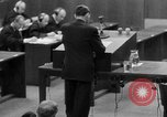 Image of war crimes trials Nuremberg Germany, 1947, second 61 stock footage video 65675071946