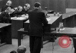 Image of war crimes trials Nuremberg Germany, 1947, second 62 stock footage video 65675071946