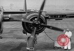 Image of Black Widow P-61 aircraft Hawthorne California USA, 1944, second 18 stock footage video 65675071975