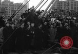 Image of American volunteers returning from Spanish Civil War New York City USA, 1938, second 5 stock footage video 65675071981