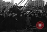 Image of American volunteers returning from Spanish Civil War New York City USA, 1938, second 7 stock footage video 65675071981
