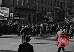 Image of American volunteers returning from Spanish Civil War New York City USA, 1938, second 24 stock footage video 65675071981