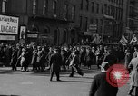Image of American volunteers returning from Spanish Civil War New York City USA, 1938, second 26 stock footage video 65675071981