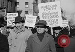 Image of American volunteers returning from Spanish Civil War New York City USA, 1938, second 29 stock footage video 65675071981