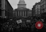 Image of students' protest rally Paris France, 1938, second 5 stock footage video 65675071982