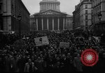 Image of students' protest rally Paris France, 1938, second 6 stock footage video 65675071982