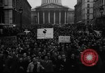 Image of students' protest rally Paris France, 1938, second 7 stock footage video 65675071982