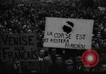 Image of students' protest rally Paris France, 1938, second 10 stock footage video 65675071982
