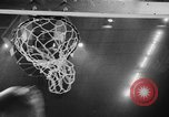 Image of CCNY versus Oregon in college basketball 1938 New York City United States USA, 1938, second 47 stock footage video 65675071985