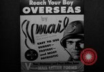 Image of V-mail procedures United States USA, 1943, second 13 stock footage video 65675072038