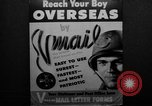 Image of V-mail procedures United States USA, 1943, second 16 stock footage video 65675072038