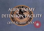 Image of Alien Enemy Detention facilities Crystal City Texas USA, 1943, second 25 stock footage video 65675072063